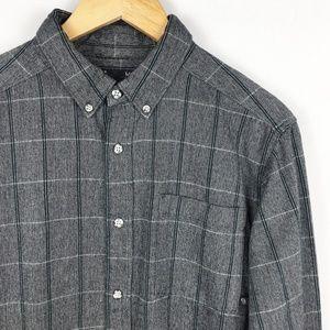 Mountain Hardwear Plaid Flannel Button Down Shirt